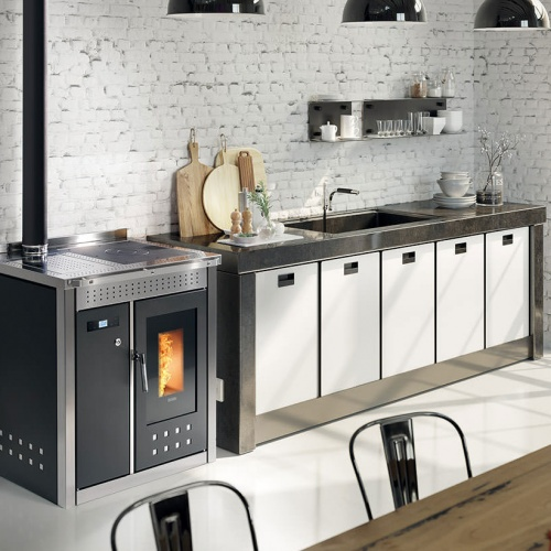 Stoves/pellets/smart 80 inox