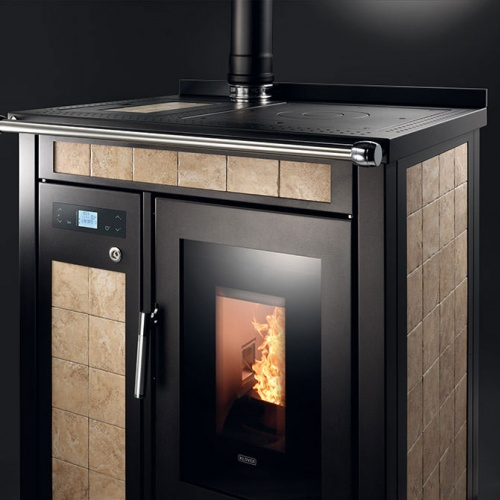 Stoves/pellets/smart 80 maiolica