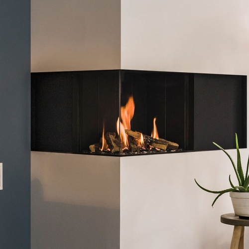 Stoves/vision tl63c corner gas fire